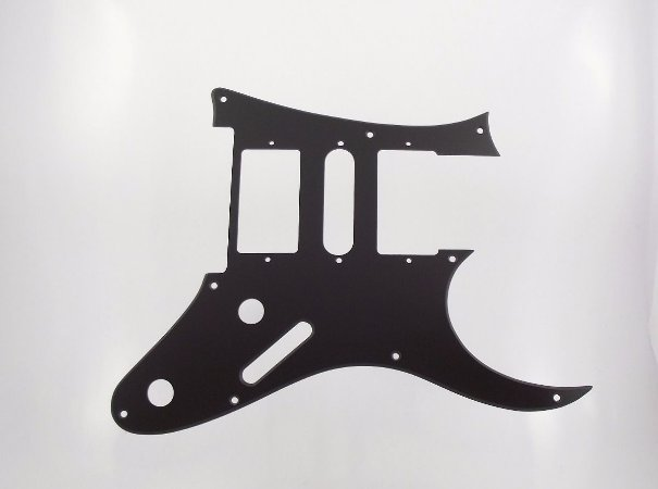 Escudo WD Custom Para Guitarra Ibanez RG350DX 2009, Preto