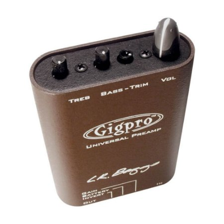 Pré-Amplificador LR Baggs GigPro de Cinto, Canal Simples