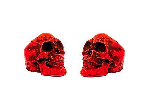 Borboleta Gorilla para Prato formato Caveira Vermelha (2 Un)