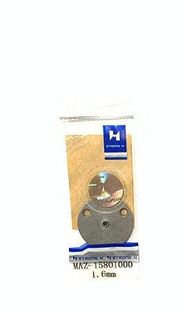 MAZ-15801000 - CHAPA OLHO PARA MÁQUINA BOTONEIRA ELETRÔNICA 1.6MM - STRONG H