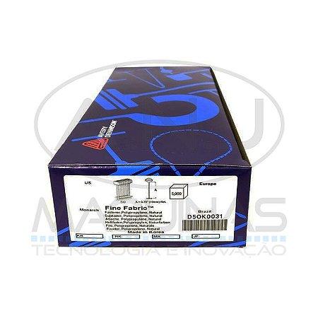 D5OK0031 - PINO FINE PIN 19MM - PPKNATURAL - AVERY DENNISON - CX 5.000