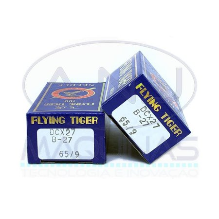 TG-DCx27 - AGULHA P/ OVERLOQUE E INTERLOQUE - (B-27, 135X17) - TIGER - KIT