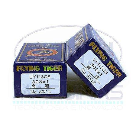 TG-UY113GS - AGULHA P/ ELASTIQUEIRA - (303X1) - TIGER - KIT