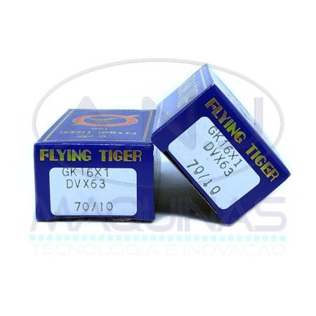 TG-DVx63 - AGULHA P/ GALONEIRA - CURTA - (B-63, GK16x1) -  TIGER - KIT