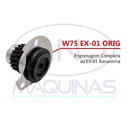 """W75 - ENGRENAGEM COMPLETA P/ MÁQUINA DE CORTE TIPO """"BANANINHA"""" EX-01 - EXATA"""