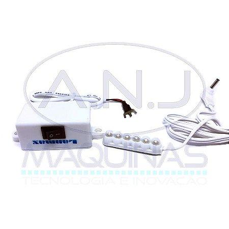 LED6 - LUMINÁRIA COM 6 LEDS - LANMAX