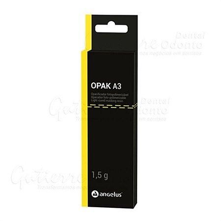 Resina Opacificadora Fotopolimerizável - OPAK A3 - Angelus