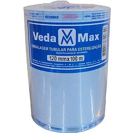 Rolo para Esterilização 12cm x 100m - Vedamax