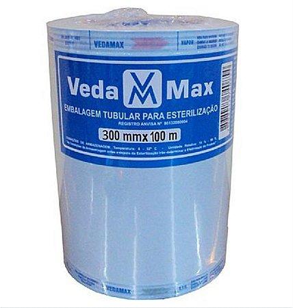 Rolo para Esterilização 30cm x 100m - Vedamax