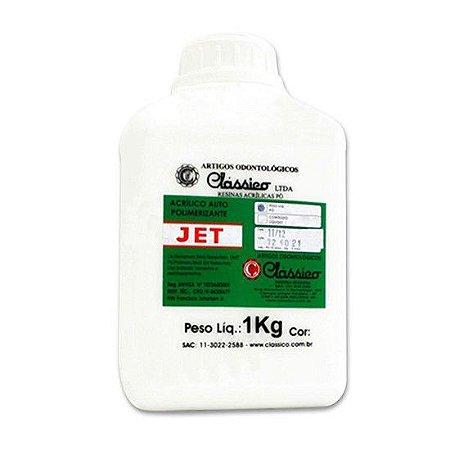 Resina Acrílica Jet Pó - Clássico ( INCOLOR )