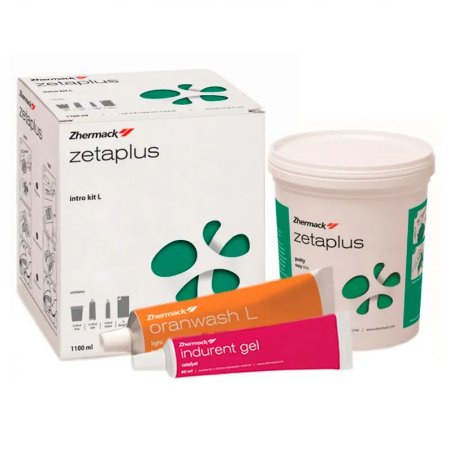Silicone de Condensação Zetaplus Intro Kit + 1 Adesivo Universal - Zhermack