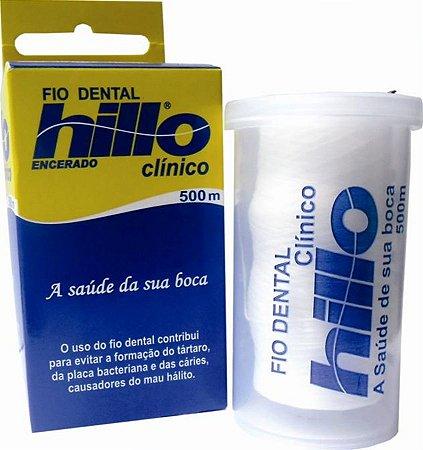 Fio Dental Encerado 500 m - Hillo