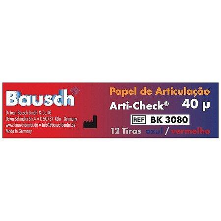 Combo Papel Carbono Arti-Check BK 3080 - Bausch