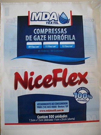 Compressa de Gaze Nice Flex 13 Fios - MDA