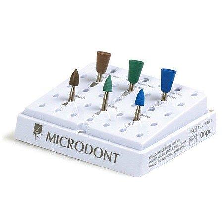 Mini Kit de Polimento de Amálgama - Microdont