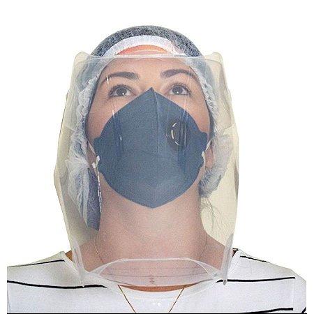 Máscara Protetora Facial Transparente com Elástico - Dello
