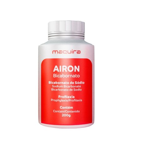 Bicarbonato de Sódio Airon Extra Fino 200g  - Maquira