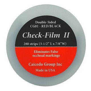 CHECK FILM II VERMELHO/PRETO COM 280 FOLHAS - ART DENTE