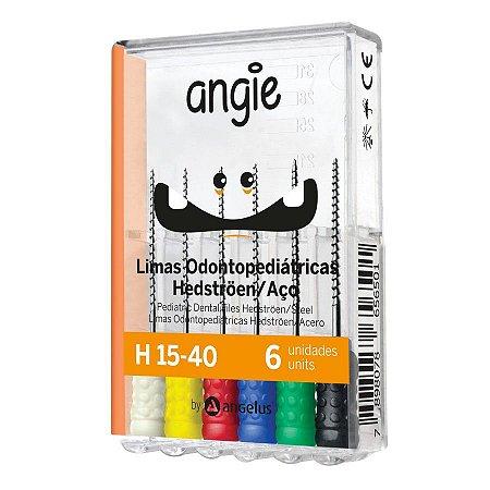 Lima Hedstroem Odontopediátrica - H 15/40 - Angie By Angelus