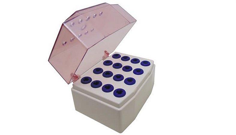 Estojo de Acessórios para Implantes Rosa - PRISMA