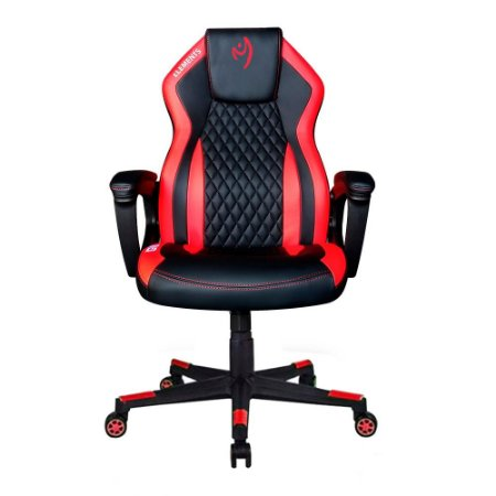 Cadeira Gamer Elements Elemental Ignis Vermelha Kit