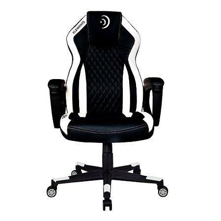 Cadeira Gamer alto padrão Elements Elemental Aer Branca