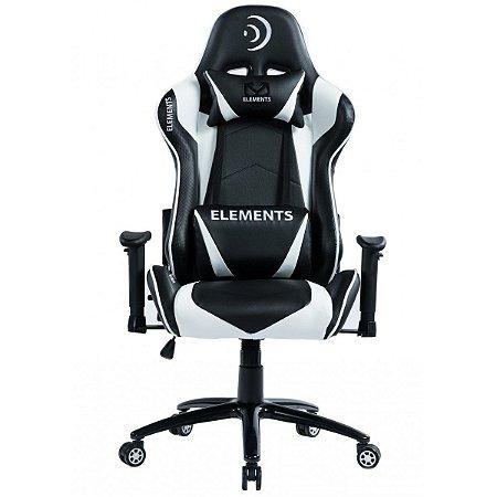 Cadeira Gamer alto padrão Elements Veda Aer Branca