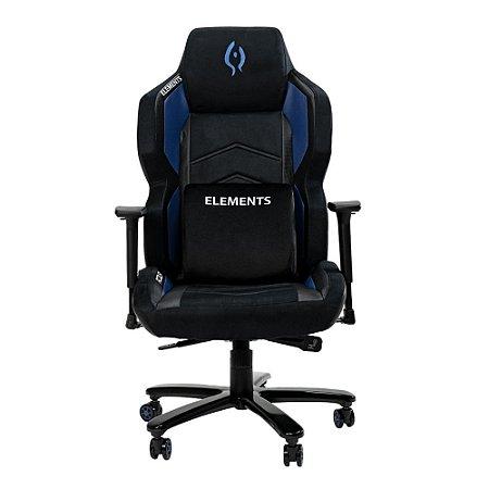 Cadeira Gamer alto padrão Elements Magna Acqua Azul