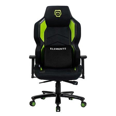 Cadeira Gamer alto padrão Elements Magna Terra Verde