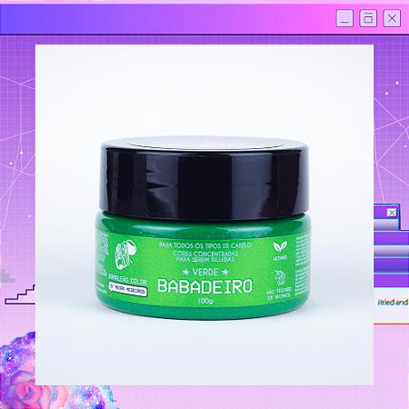 Máscara Pigmentante Maira Medeiros - Verde Babadeiro 100g Kamaleão Color