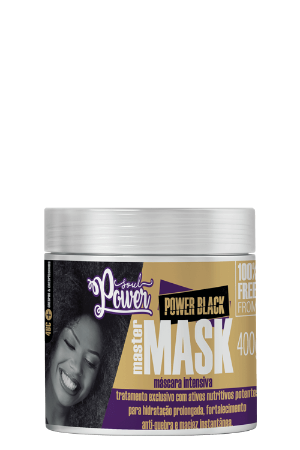 MÁSCARA INTENSIVA POWER BLACK MASTER 400ML