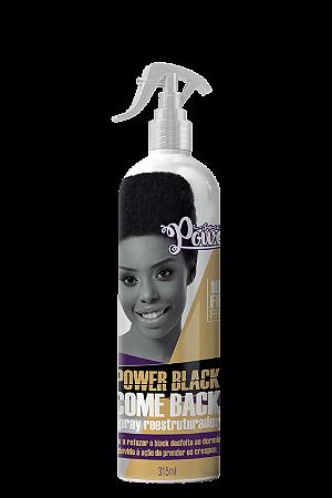SPRAY REESTRUTURADOR POWER BLACK COME BACK 315 ML