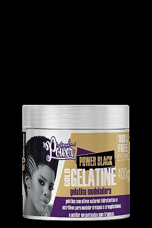 GELATINA MODELADORA POWER BLACK GOLD GELATINE 400G