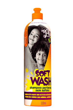SHAMPOO KIDS SOFT WASH 300ML