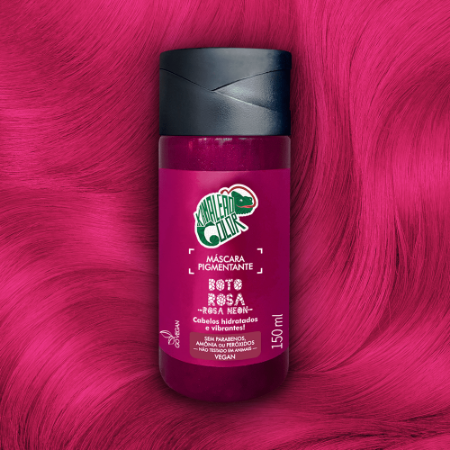 MÁSCARA PIGMENTANTE KAMALEAO COLOR - BOTO ROSA 150 ML