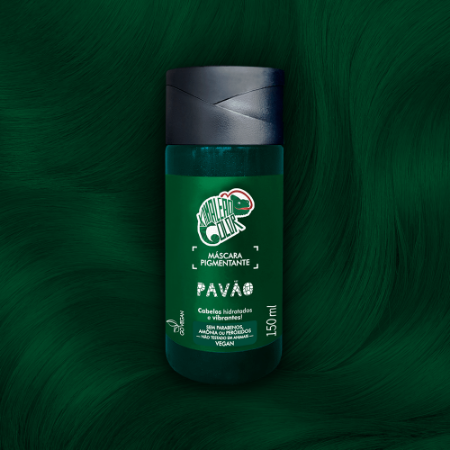 MÁSCARA PIGMENTANTE KAMALEAO COLOR - PAVÃO 150 ML
