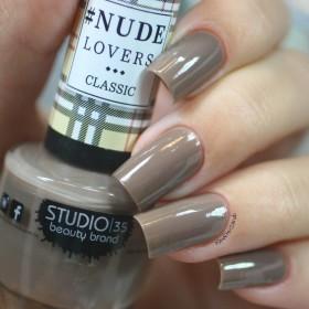 Esmalte Studio 35 Nude Elegante - Marrom acinzentado cremoso. - NUDE LOVERS