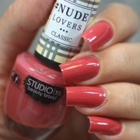Esmalte Studio 35 Nude Tentador - Rosa Antigo Cremoso. - Nude Lovers