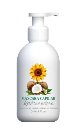 MASCARA CAPILAR RESTAURADORA MULTI VEGETAL 240ML