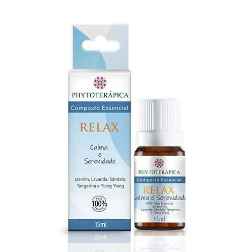 ÓLEO ESSENCIAL COMPOSTO RELAX - 15ML