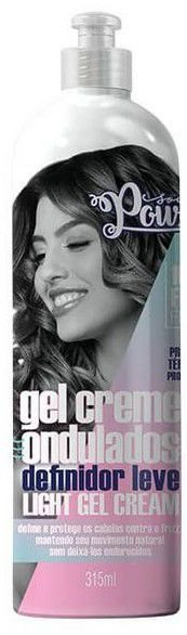 GEL CREME ONDULADOS LIGHT GEL-CREAM 315ML - SOUL POWER