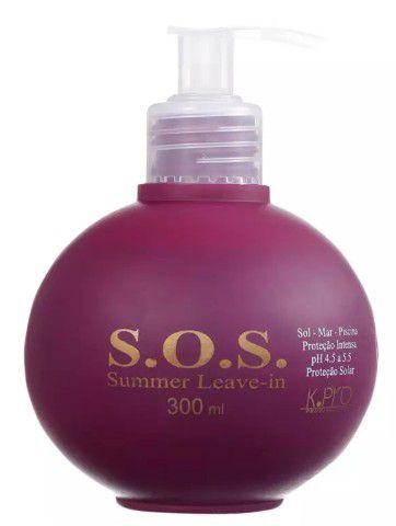 SOS SUMMER CONDICIONADOR LEAVE-IN 300 ML K.PRO