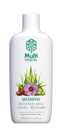 SHAMPOO OLIVA E ARGAN MULTI VEGETAL 240ML