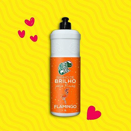 BANHO DE BRILHO FLAMINGO 1L