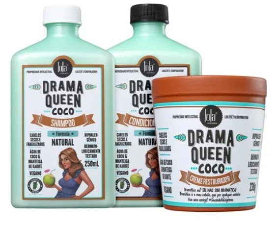 KIT DRAMA QUEEN COCO COMPLETO (3 ITENS)
