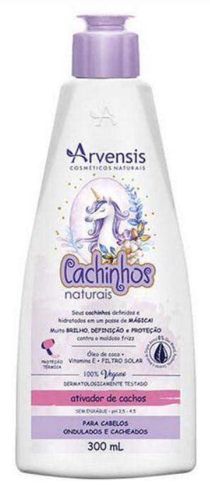 ATIVADOR CACHINHOS ONDULADOS E CACHEADO 300 ML ARVENSIS