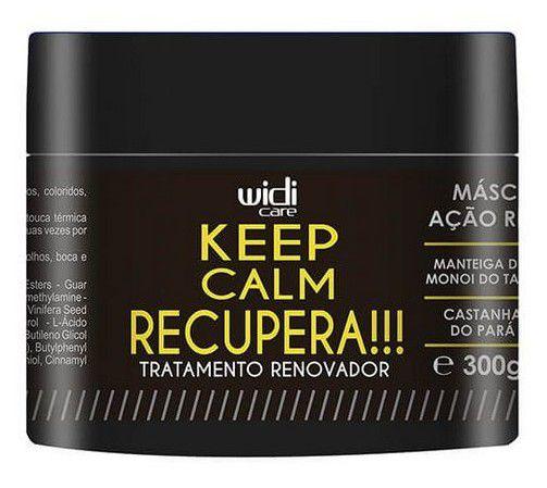 Keep Calm Recupera! - Máscara De Tratamento 300G - Widi Care