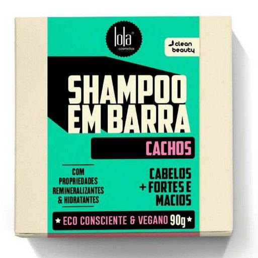 Shampoo Em Barra Cachos 90G