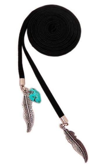 Gargantilha Choker Multiuso Feather