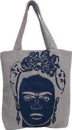 Bolsa Frida (Tecido PET) - Cinza